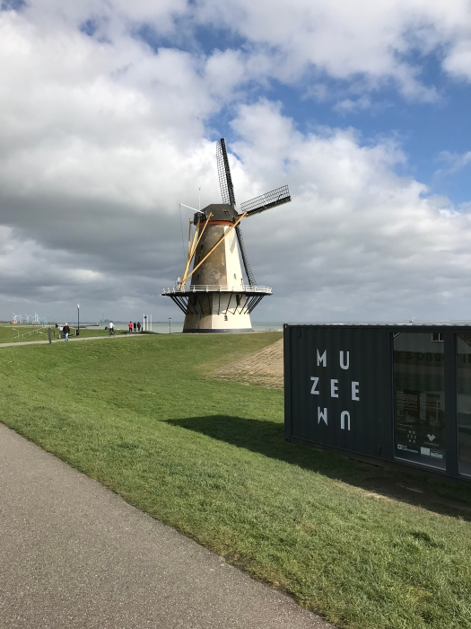 A windmill in Vlissingen